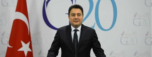 Turkish Deputy Prime Minister Ali Babacan