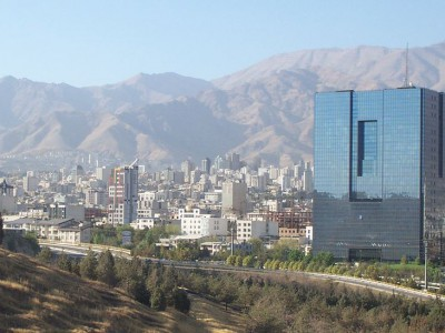 Central Bank of Iran in Tehran - Ensie and Matthias - Flicker