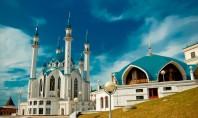 The Qolşärif Mosque located in Kazan Kremlin