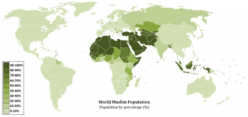 World Muslim Populations